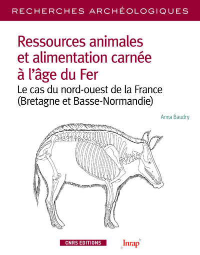 RECHERCHES ARCHEOLOGIQUES - NUMERO 13 RESSOURCES ANIMALES ET ALIMENTATION CARNEE A L'AGE DE FER