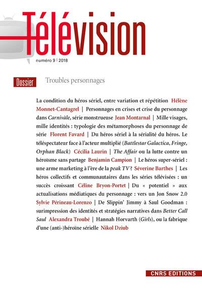 TELEVISION 9 - TROUBLES PERSONNAGES