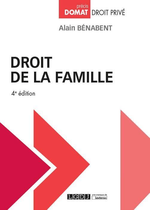 DROIT DE LA FAMILLE - 4EME EDITION