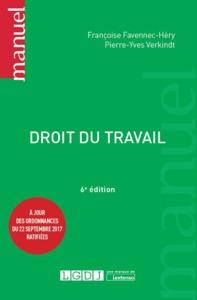 DROIT DU TRAVAIL 6EME EDITION
