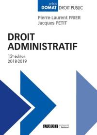 DROIT ADMINISTRATIF - 12EME EDITION