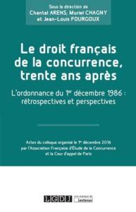 LE DROIT FRANCAIS DE LA CONCURRENCE
