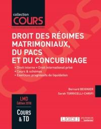 DROIT DES REGIMES MATRIMONIAUX, DU PACS ET DU CONCUBINAGE - 6EME EDITION - DROIT INTERNE DROIT INTER