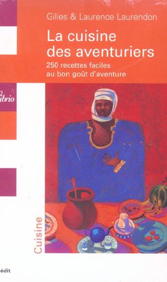 COFFRET LA CUISINE DES AVENTURIERS 5VOLS LIBRIO OCTOBRE 2003