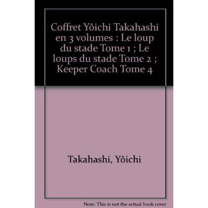 COFFRET YOICHI TAKAHASHI 3VOLS OCTOBRE 2005