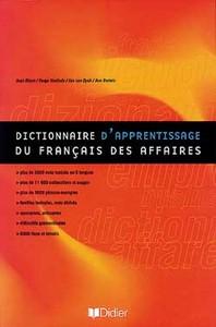 DAFA - DICTIONNAIRE D'APPRENTISSAGE DU FRANCAIS DES AFFAIRES - LIVRE