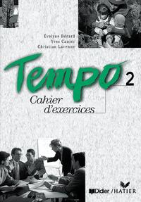 TEMPO 2 ESPAGNE CAHIER D'EXERCICES ET CD AUDIO