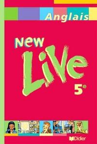 NEW LIVE 5E LV1 - LIVRE ELEVE