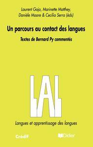 UN PARCOURS AU CONTACT DES LANGUES - LIVRE