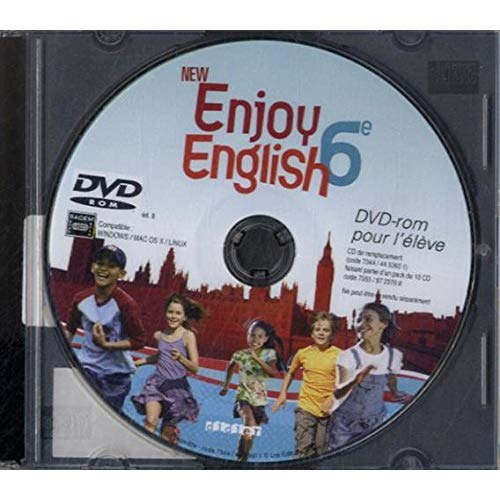 ENJOY ENGLISH 6E NOUVELLE EDITION - DVD PROMO (NE PAS PUBLIER)