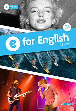 E FOR ENGLISH 3E - LIVRE + DVD-ROM