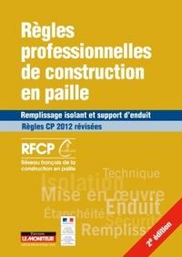 REGLES PROFESSIONNELLES DE CONSTRUCTION EN PAILLE