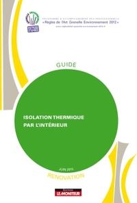 ISOLATION THERMIQUE PAR L'INTERIEUR - RENOVATION