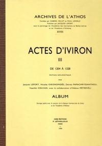 ACTES D'IVIRON XVIII TOME 3