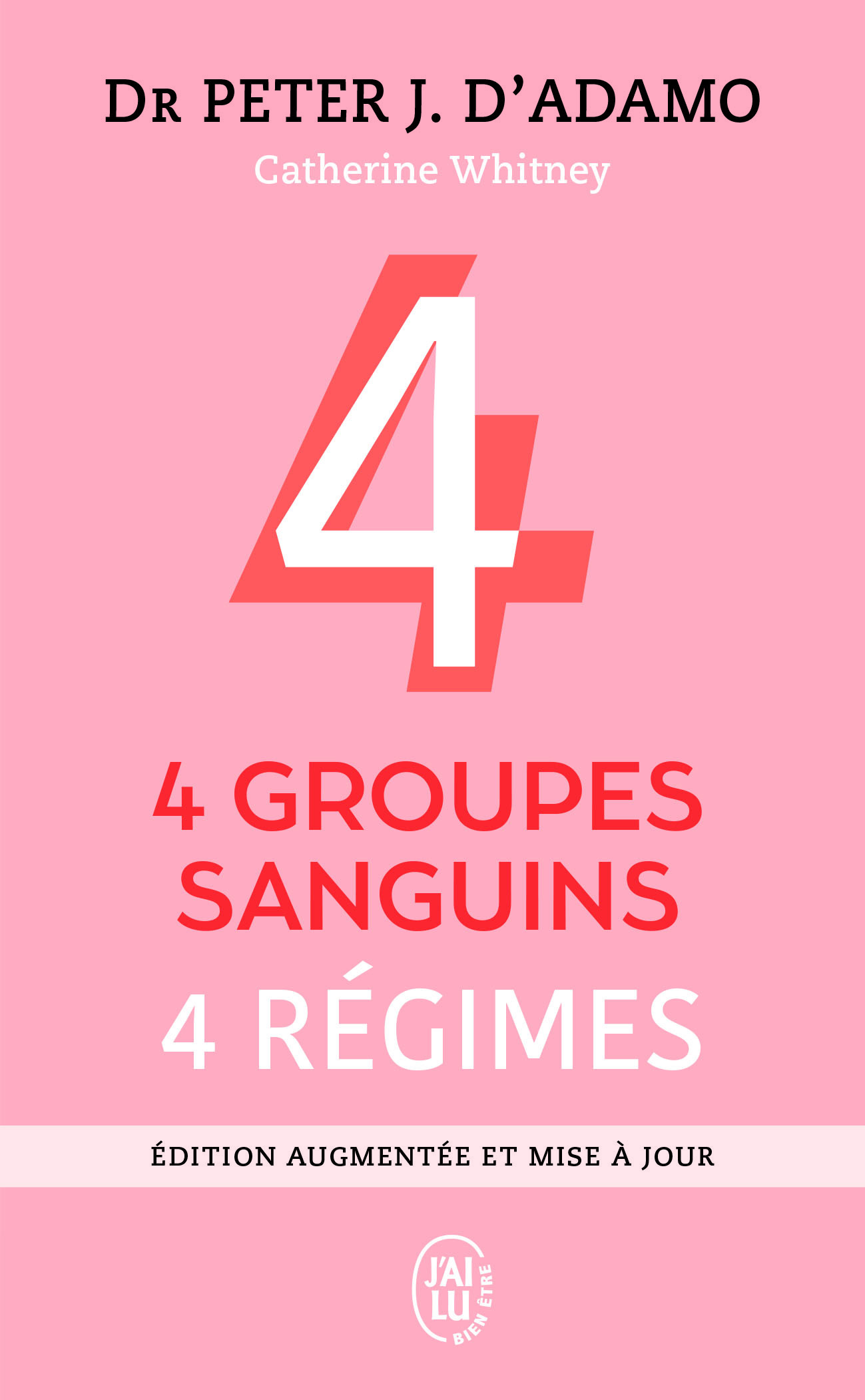 (NC) 4 GROUPES SANGUINS - 4 REGIMES