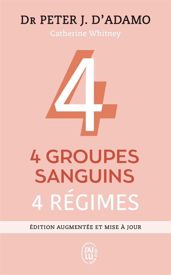 (NC) QUATRE GROUPES SANGUINS - QUATRE REGIMES
