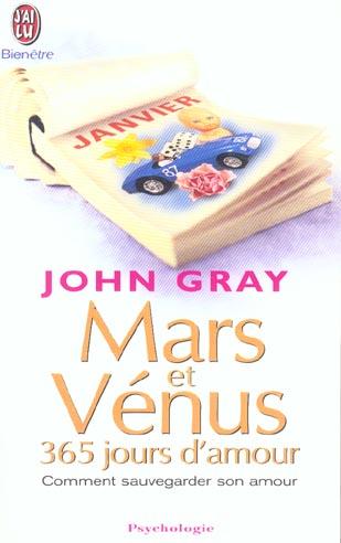 LE CALENDRIER MARS ET VENUS, 365 JOURS D'AMOUR