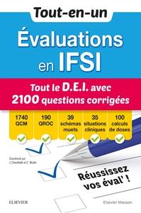 TOUT-EN-UN EVALUATIONS EN IFSI - TOUT LE D.E.I AVEC 2100 QUESTIONS CORRIGEES