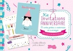KIT INVITATIONS ANNIVERSAIRE