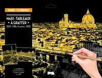 MAXI-TABLEAUX A GRATTER PARIS-FLORENCE