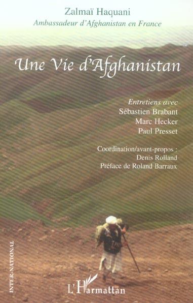 VIE D'AFGHANISTAN