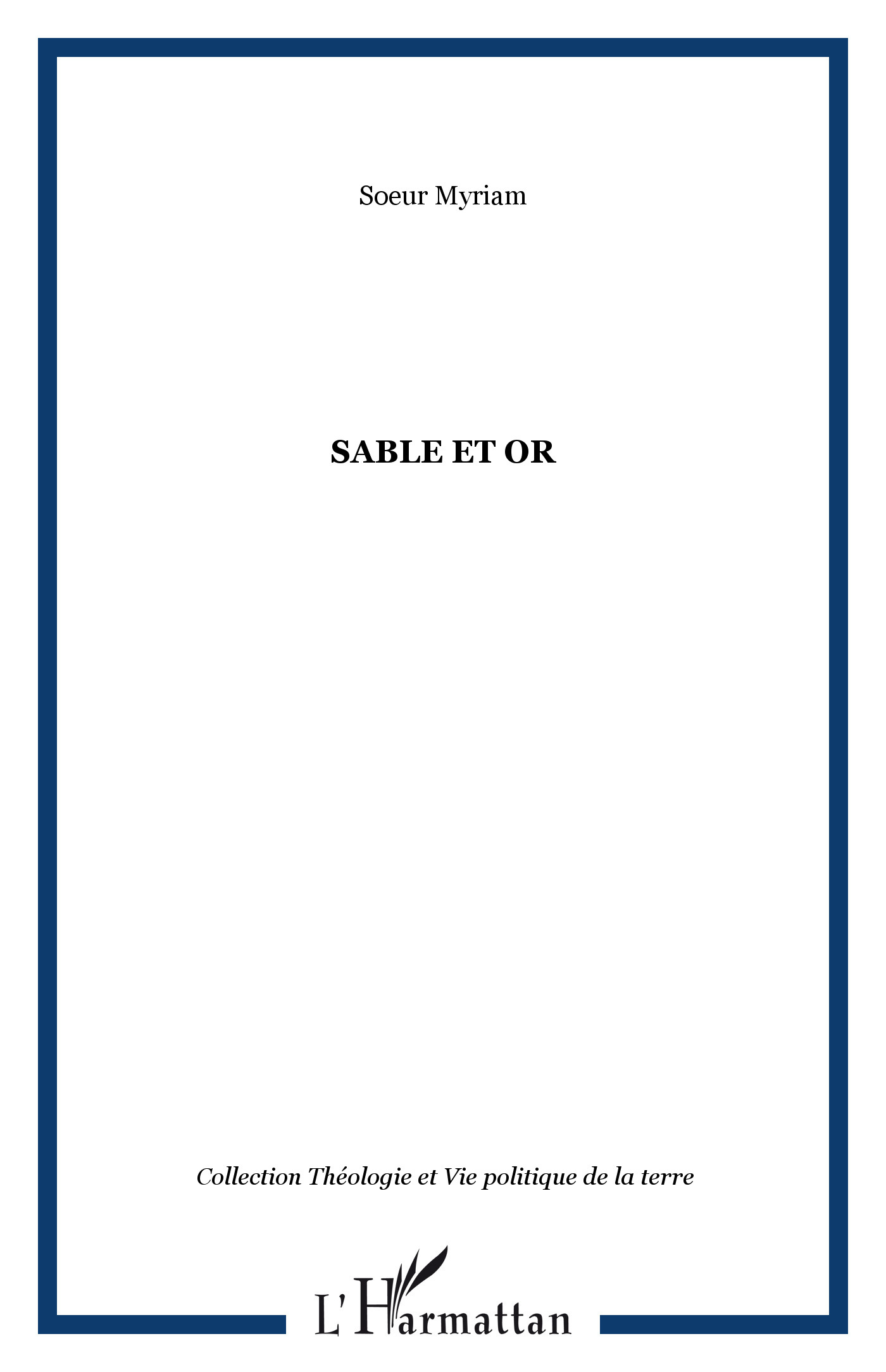 SABLE ET OR