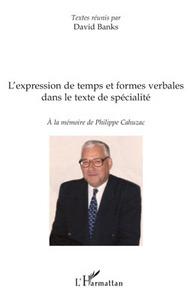 L'expression de temps et formes verbales dans le texte de spécialité