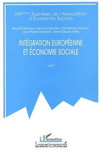 INTÉGRATION EUROPÉENNE ET ÉCONOMIE SOCIALE
