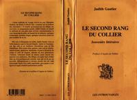 LE SECOND RANG DU COLLIER