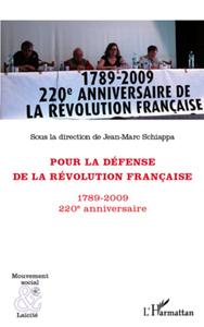 Pour la défense de la Révolution française