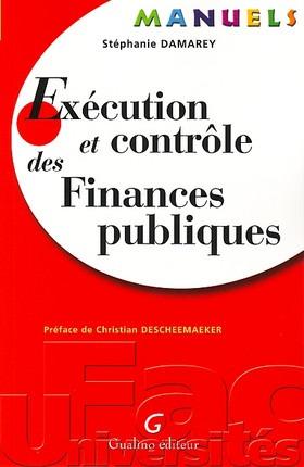 MANUEL - EXECUTION ET CONTROLE DES FINANCES PUBLIQUES