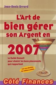 L'ART DE BIEN GERER SON ARGENT