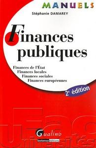 MANUEL - FINANCES PUBLIQUES - 2EME EDITION