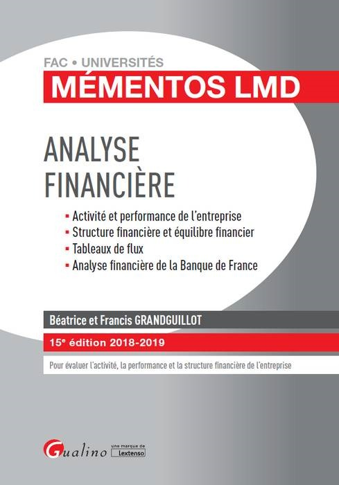ANALYSE FINANCIERE - 15EME EDITION