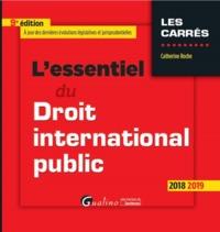 L'ESSENTIEL DU DROIT INTERNATIONAL PUBLIC - 9EME EDITION