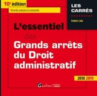L ESSENTIEL DES GRANDS ARRETS DU DROIT ADMINISTRATIF - 10EME EDITION