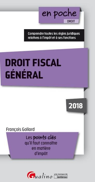 DROIT FISCAL GENERAL 2EME EDITION