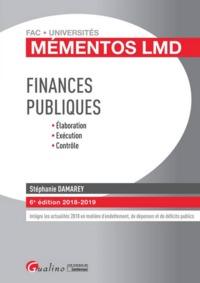 FINANCES PUBLIQUES - 6EME EDITION