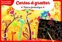 CARTES A GRATTER - NATURE FANTASTIQUE