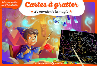 CARTES A GRATTER - LE MONDE DE LA MAGIE