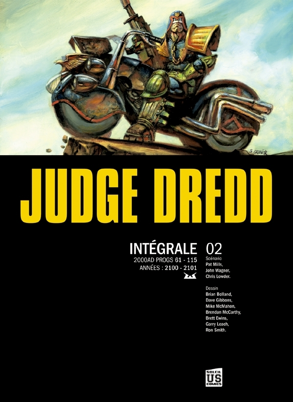 JUDGE DREDD THE COMPLETE T02