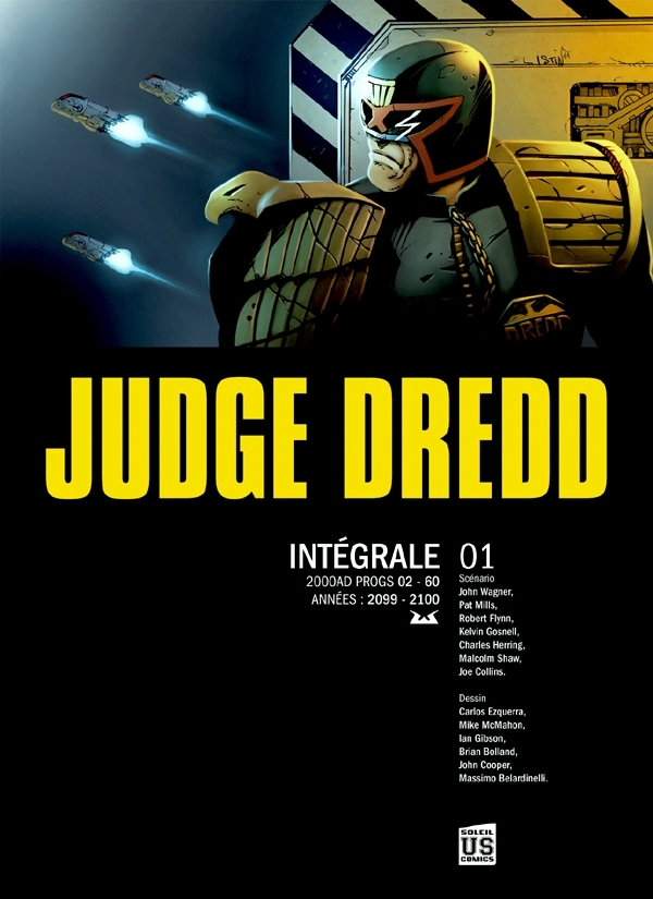 JUDGE DREDD THE COMPLETE T01