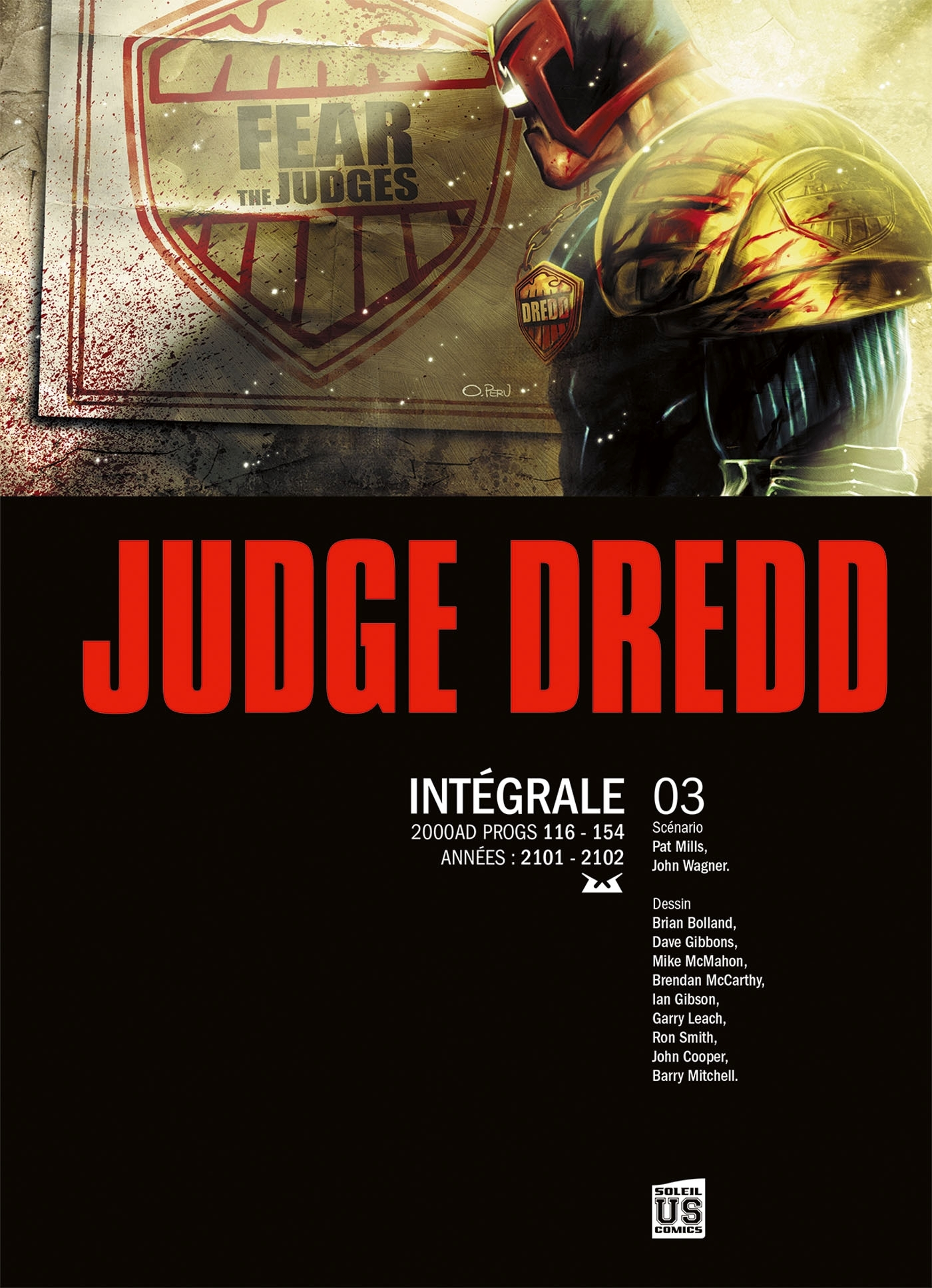 JUDGE DREDD - INTEGRALE T3