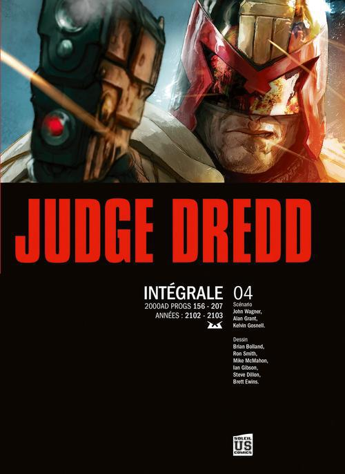 JUDGE DREDD - INTEGRALE T4 (N&B)