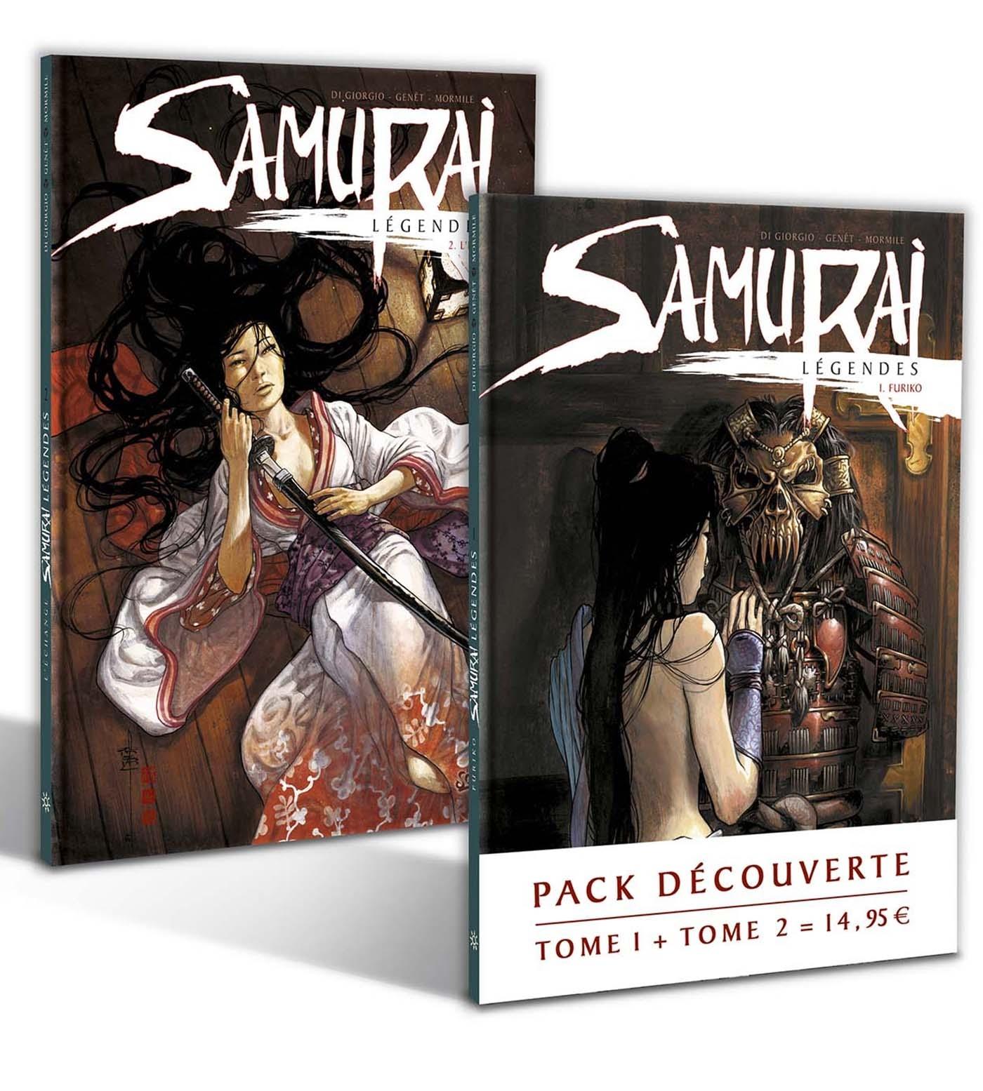 SAMURAI LEGENDES - PACK T1+T2 HC
