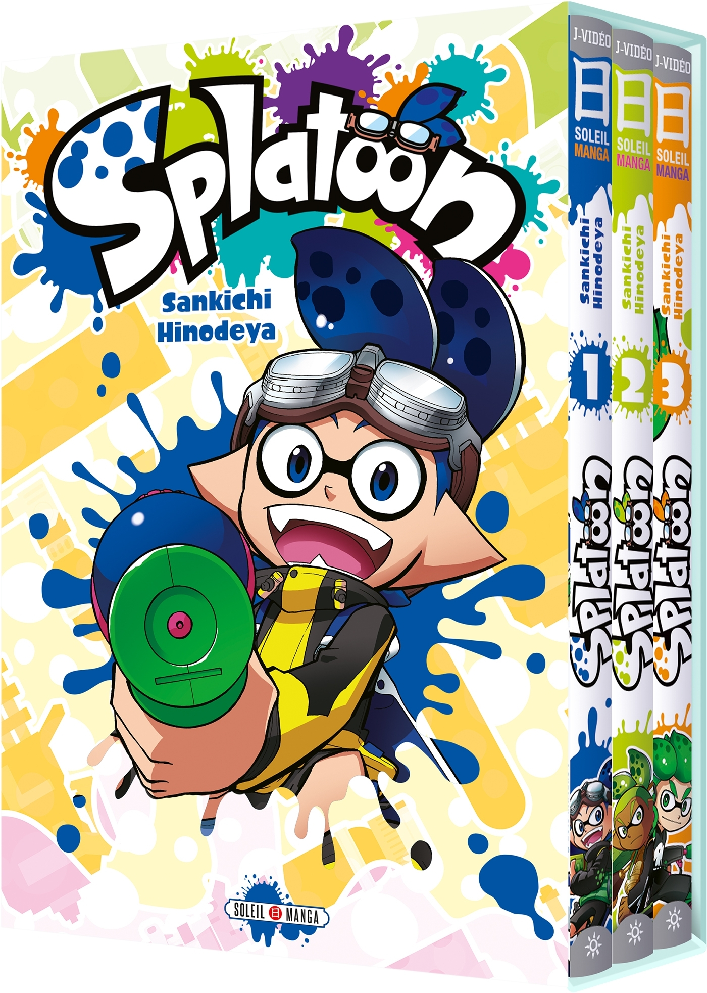 SPLATOON 04 - COFFRET T1 A T3
