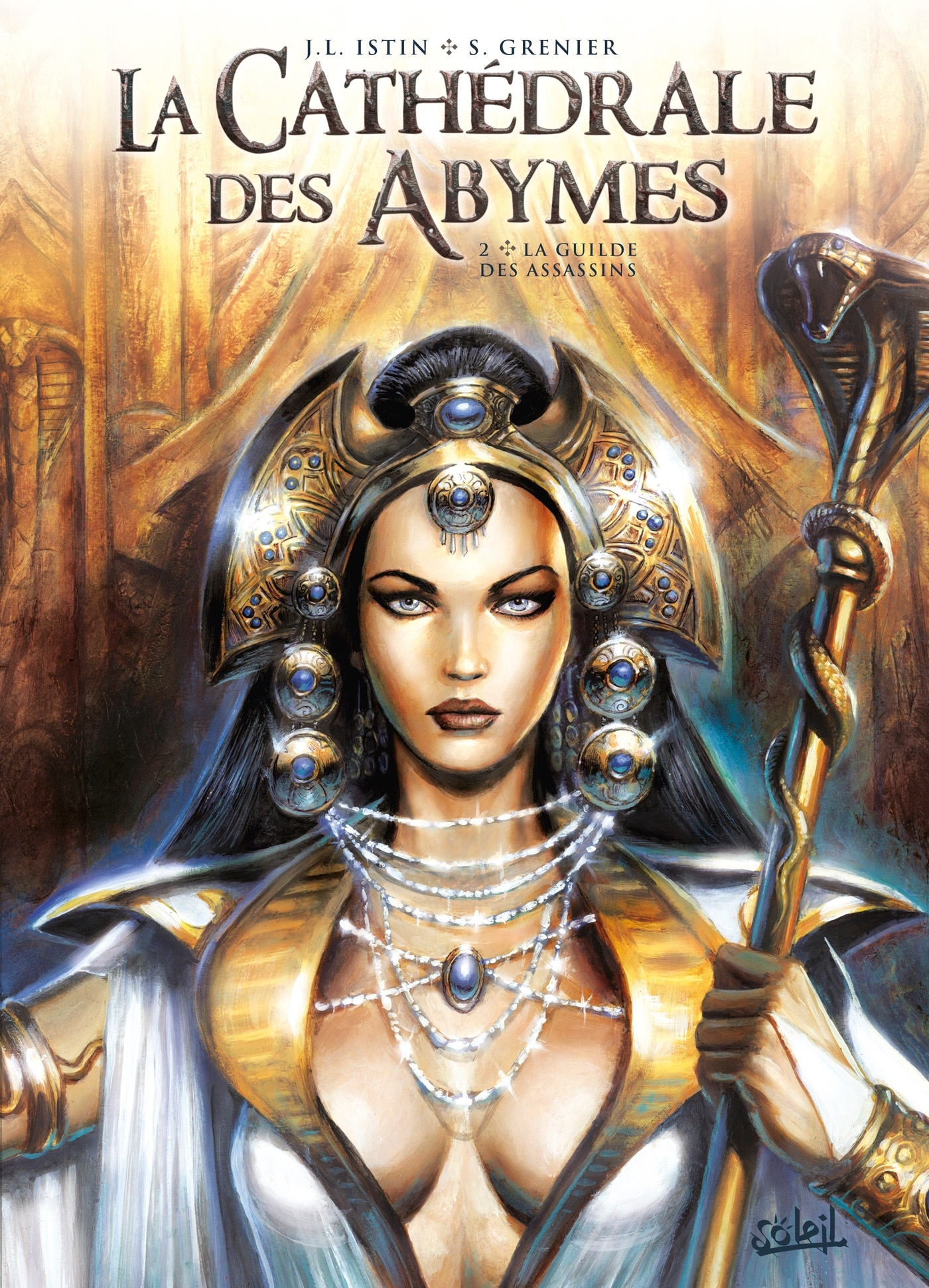 CATHEDRALE DES ABYMES 02 - LA GUILDE DES ASSASSINS - T2
