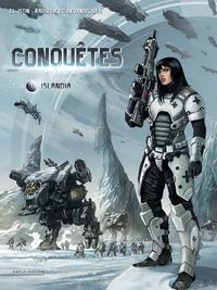 CONQUETES 01 - PACK T1 + CARNET DE BORD