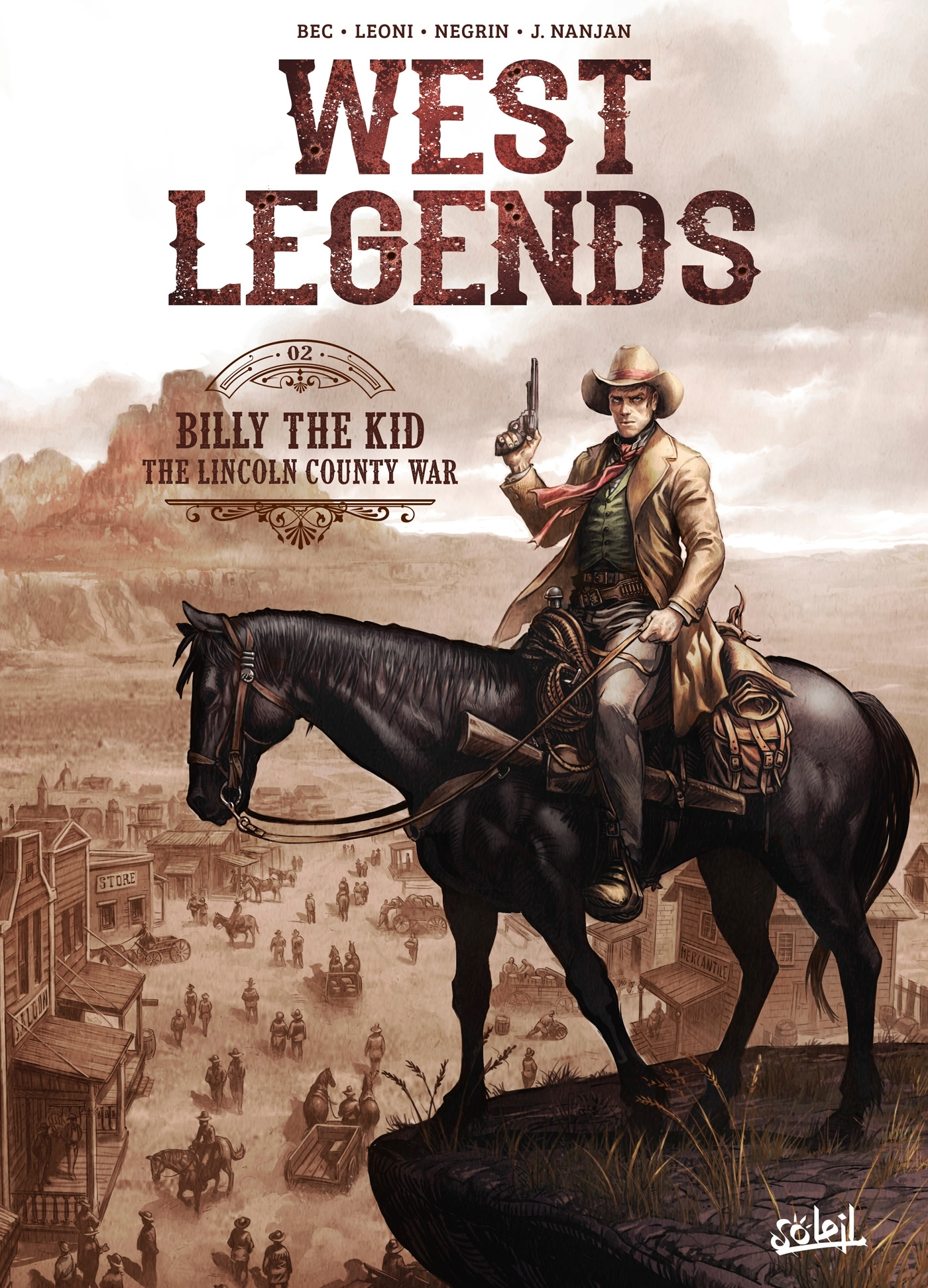 WEST LEGENDS T02 - BILLY THE KID - THE LINCOLN COUNTY WAR