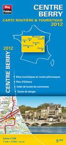 CENTRE - BERRY, CARTE REGIONALE ROUTIERE TOURISTIQUE N 108. PLAN DE VILLE D'ORLEANS 1/200000